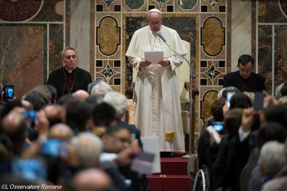 Diễn từ của Đức Thánh Cha trước các Doanh nhân Công giáo (UNIAPAC)