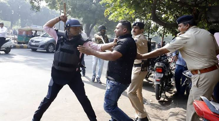 """Image result for caa protests in gujarat"""""""