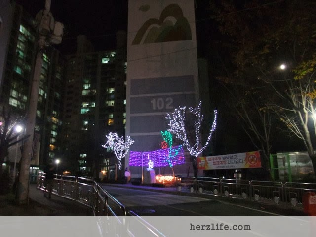 Christmas Decoration Korea
