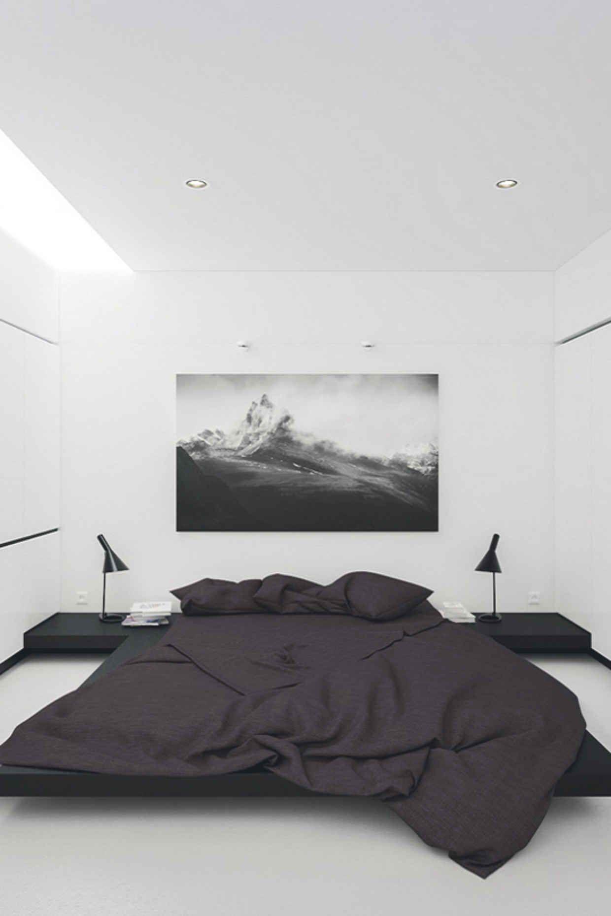 Black and White Minimalist Design