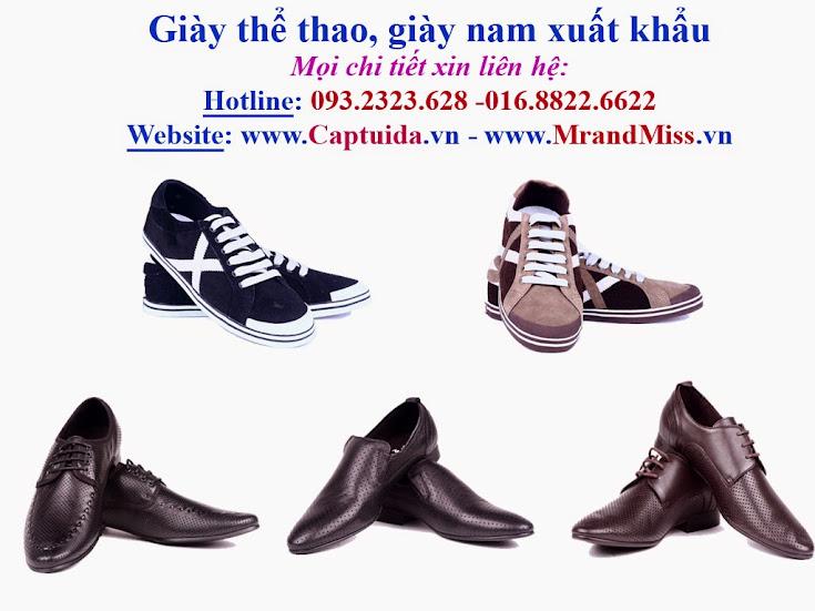 Xả hàng ! Giảm giá quá khủng đến 60% Giày da nam, giày nam xuấtkh