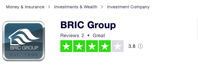 BRIC Group rating