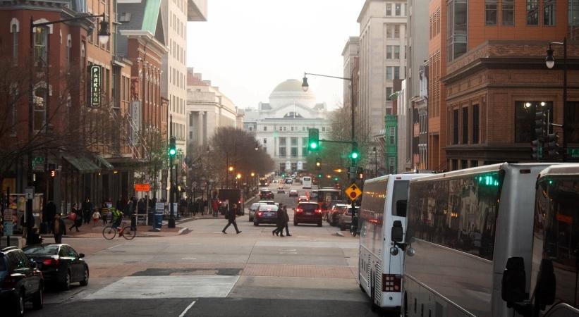 street in Washington, DC
