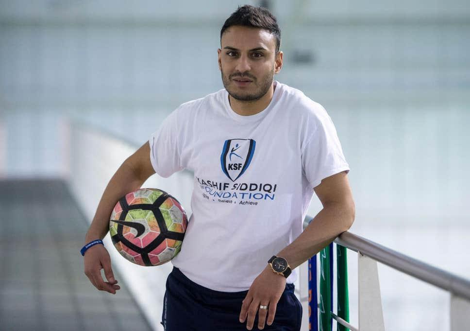 Kashif Siddiqi is looking to change the landscape of British football