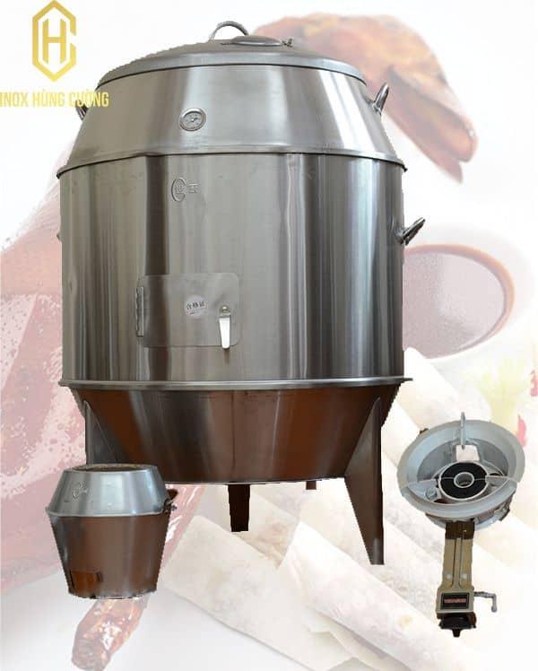 Lò quay gà vịt công nghiệp dần thay thế cho các phương pháp nướng truyền thống