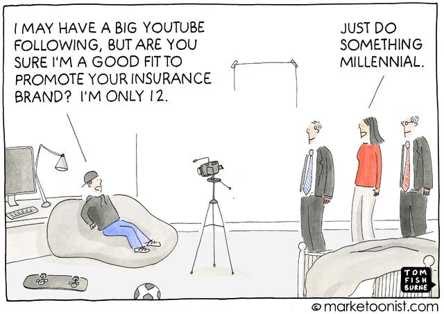 Marketoonist cartoon about millennials