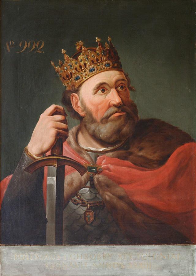 Bolesław I Chrobry na obrazie Jana Bogumiła Jacobiego.