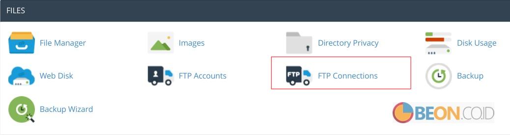 Membuat dan menggunakan FTP account