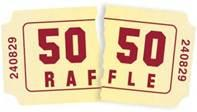 50:50 Raffle!
