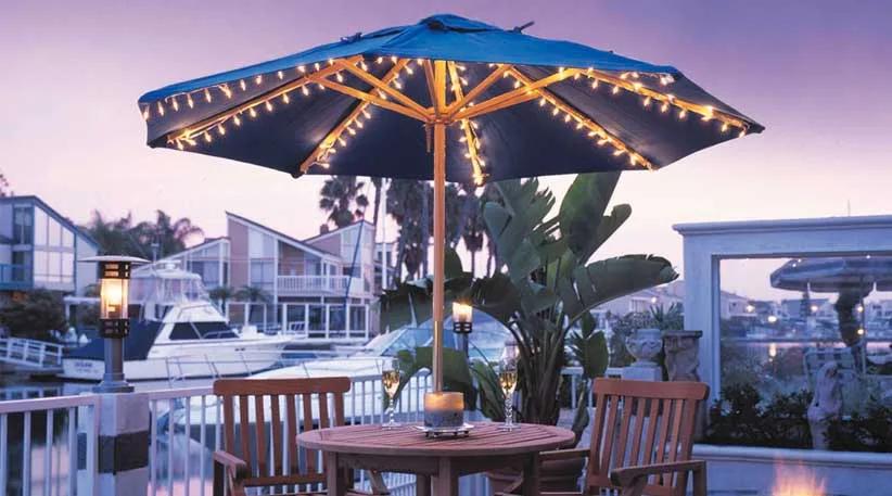 Consider Buying Solar Energy Patio Umbrella Lights For Your Patio Umbrellas