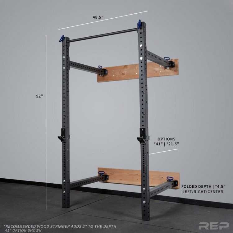 Rep Fitness squat rack
