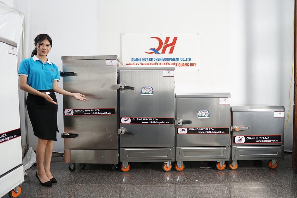 Thương hiệu tủ cơm công nghiệp Quang Huy