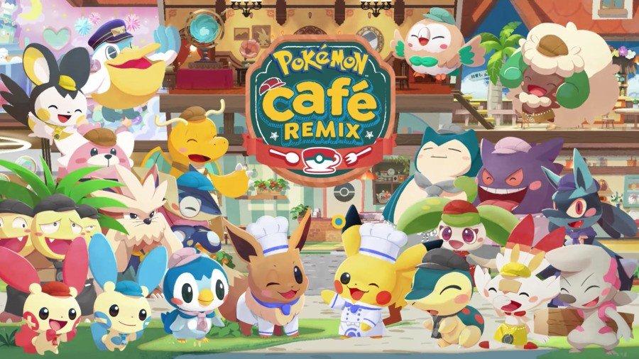 Cafe Mix Pokémon