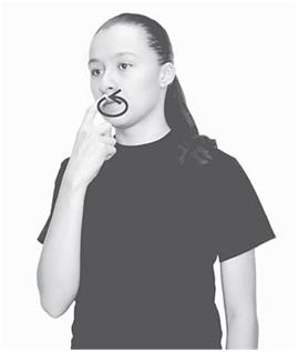 Boca lenguaje de señas