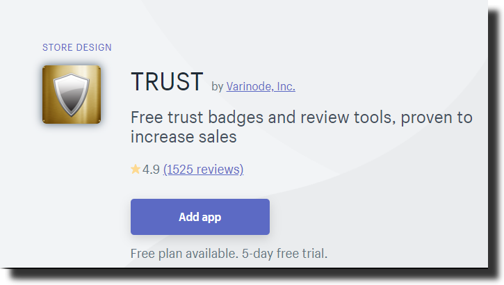 Trust and security app