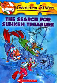 Image result for geronimo stilton the search for the sunken treasure