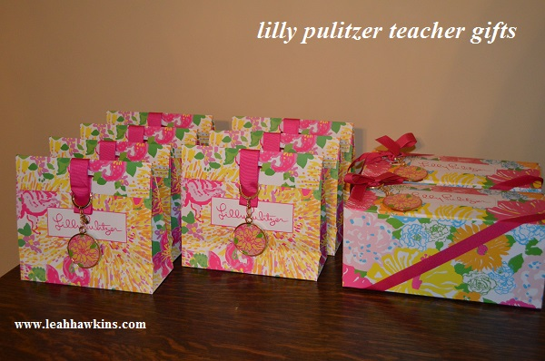 lilly pulitzer teacher gifts