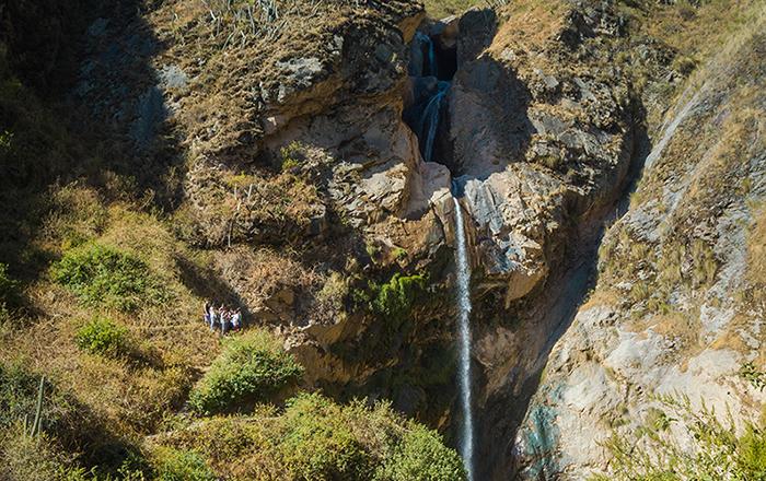 Cascada Antankallo en Matucana