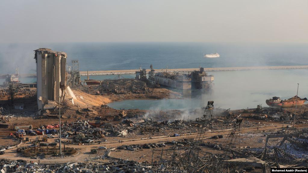 Последствия взрыва в Бейруте, 5 августа