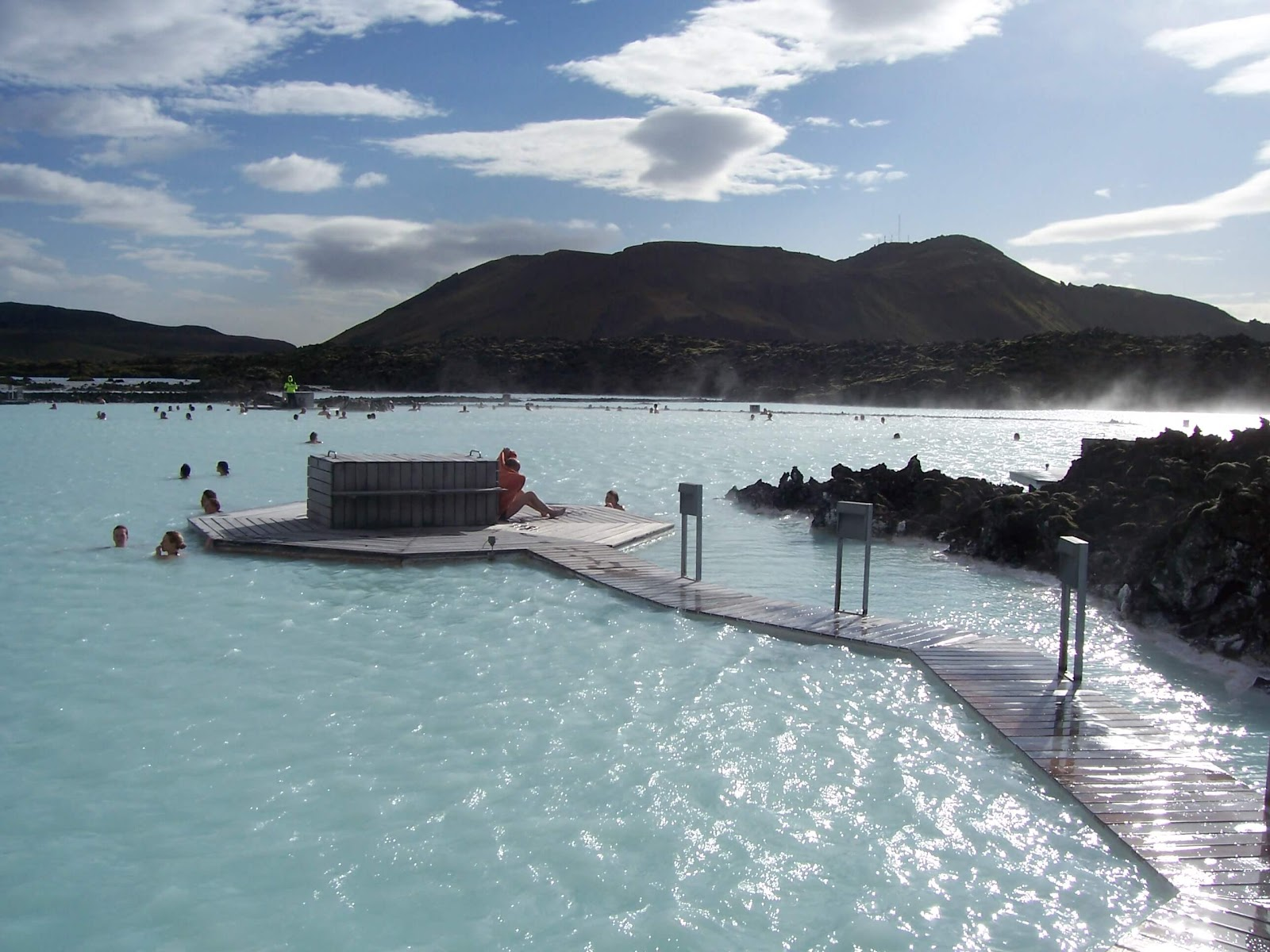 the blue lagoon, coolest place to stay in iceland