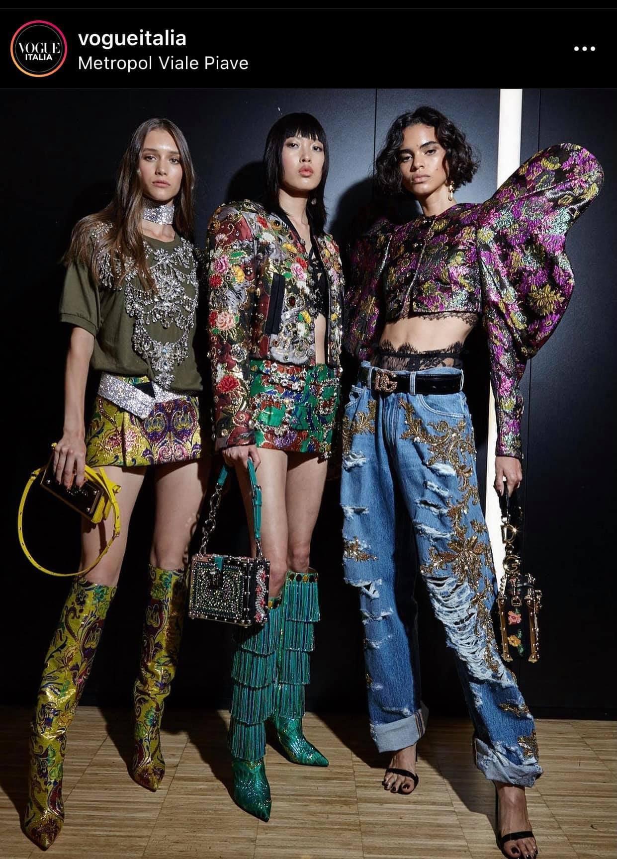 Phương Oanh làm dậy sóng làng thời trang, trở thành mẫu Việt đầu tiên diễn cho nhà mốt Dolce & Gabbana