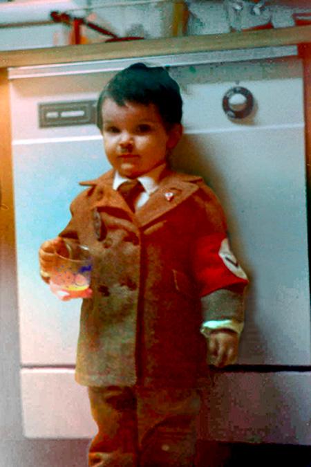 baby halloween hitler costume