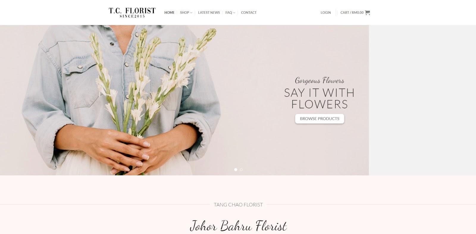 Florists in Johor Bahru