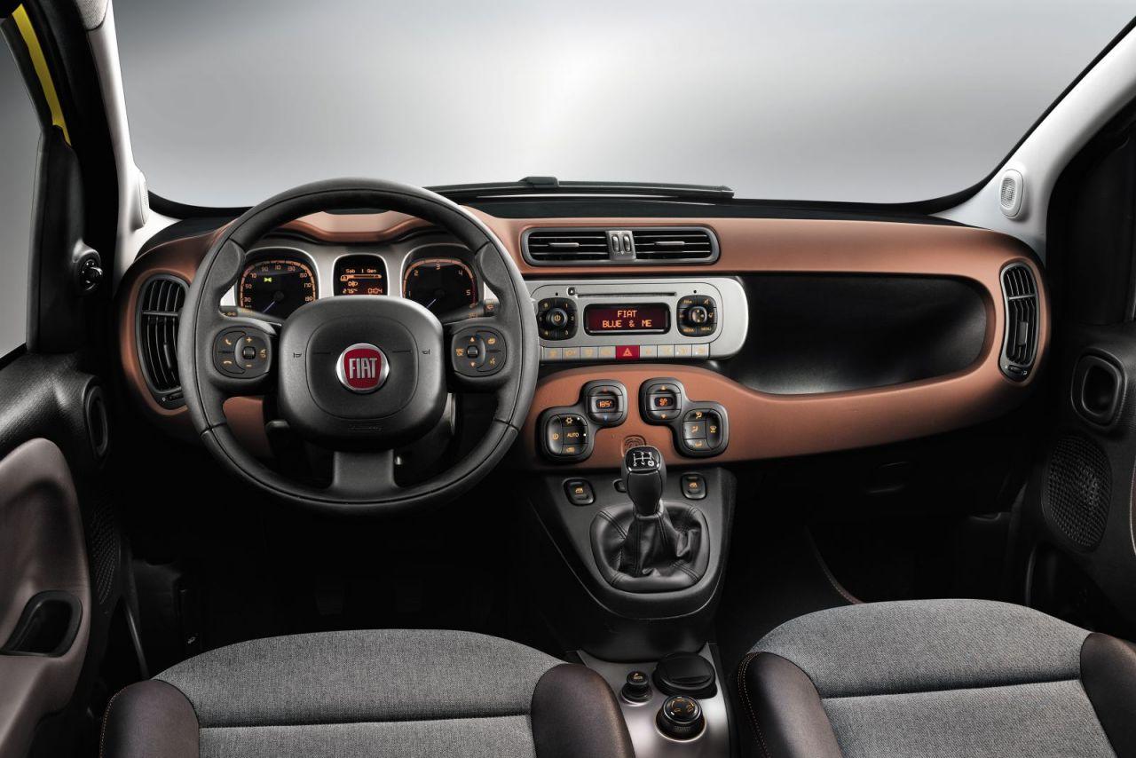 unutrašnjost modela Fiat