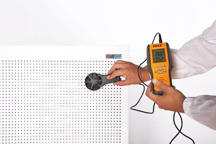 indoor air quality audit for air conditioner and central air HVAC system