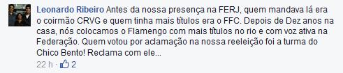 Capitão Leo confessa que Flamengo só cresceu com presença na Federação