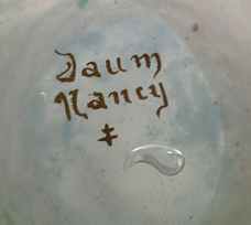 marque daum nancy