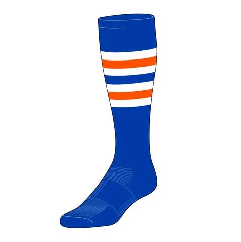 baseball mother's day gift idea - custom baseball socks