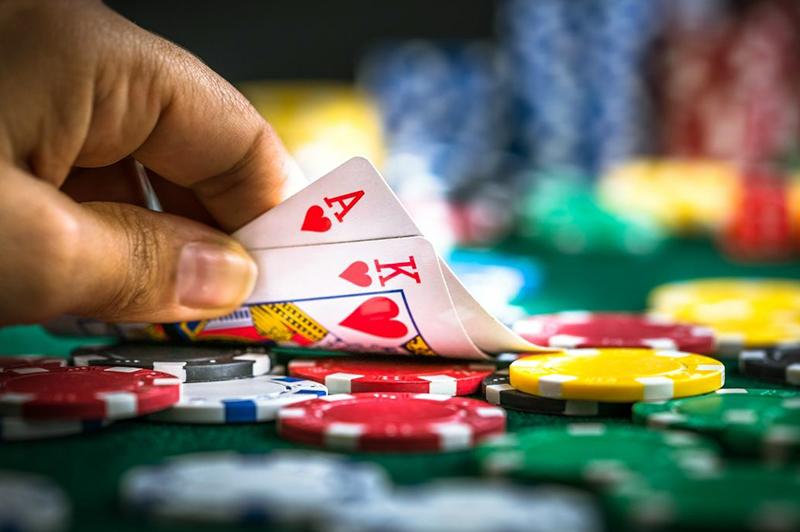 poker in online casino