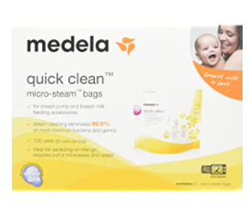 Best Steam Bags: Medela Microbags