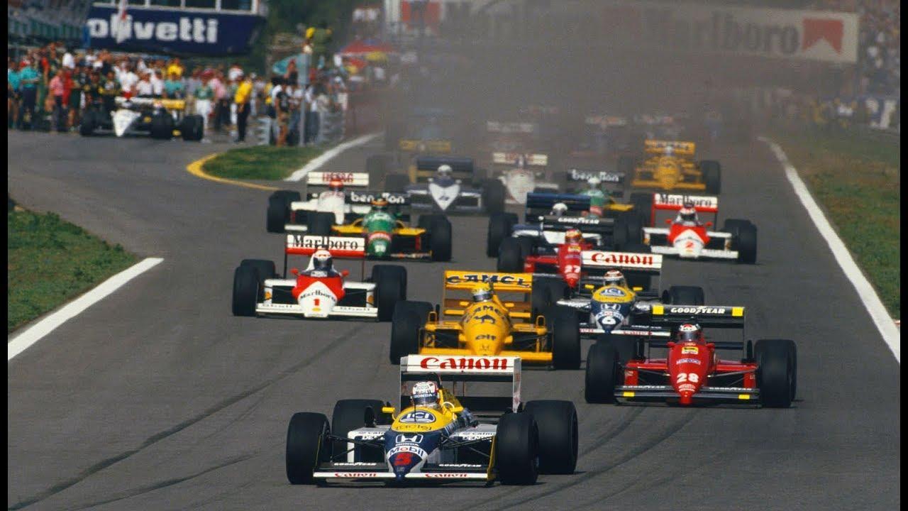 Risultati immagini per formula 1 1987 cars