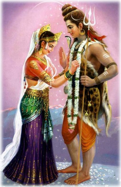 Marriage of Lord Shiva and Maa Parvati on Shivratri