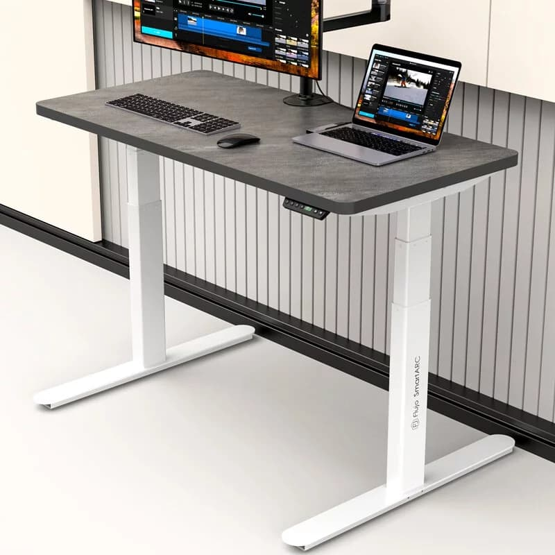 An image of the SmartARC Standing Table for working from home needs