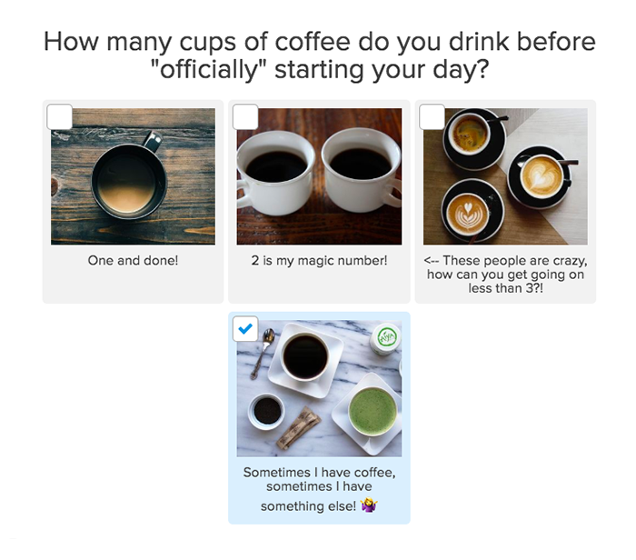 question about coffee habits