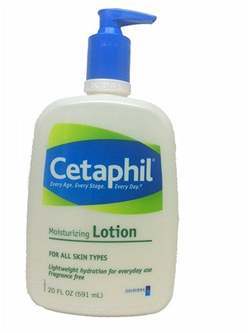 kem dưỡng da cho hình xăm Cetaphil Fragrance Free Moisturizing Lotion