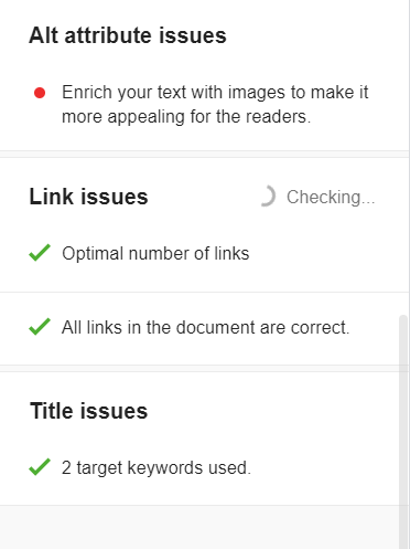 This will help you clear if there is any link issues