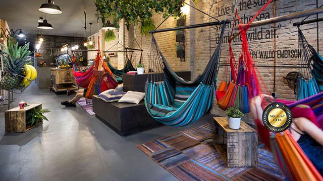 Thiết kế quán cafe võng tại hcm