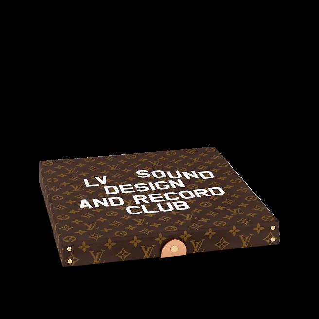 2. ที่เก็บแผ่นเสียงไวนิล รุ่น Pizza Box