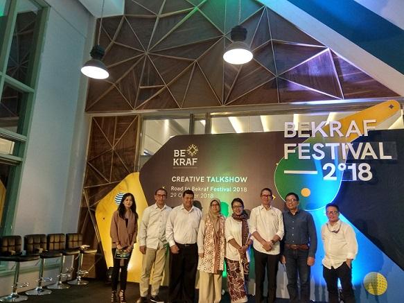 Laporan Akhir Tahun Kinerja Bekraf Lewat Bekraf Festival 2018!