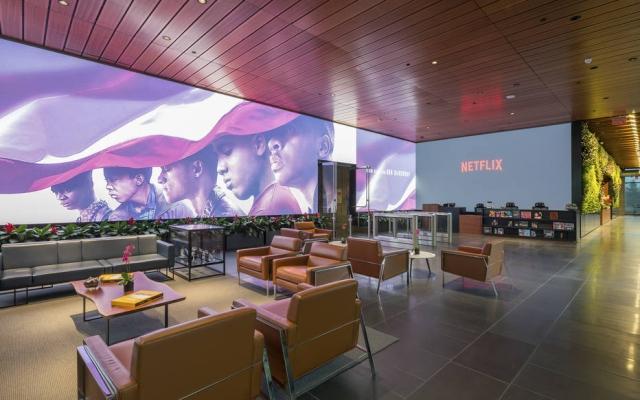 Local de trabalho.Sede da Netflix, em Los Angeles: cultura empresarial de salários altos e de avaliações constantes