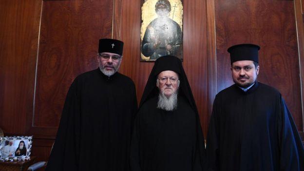 Патриарх Варфоломей и экзархи