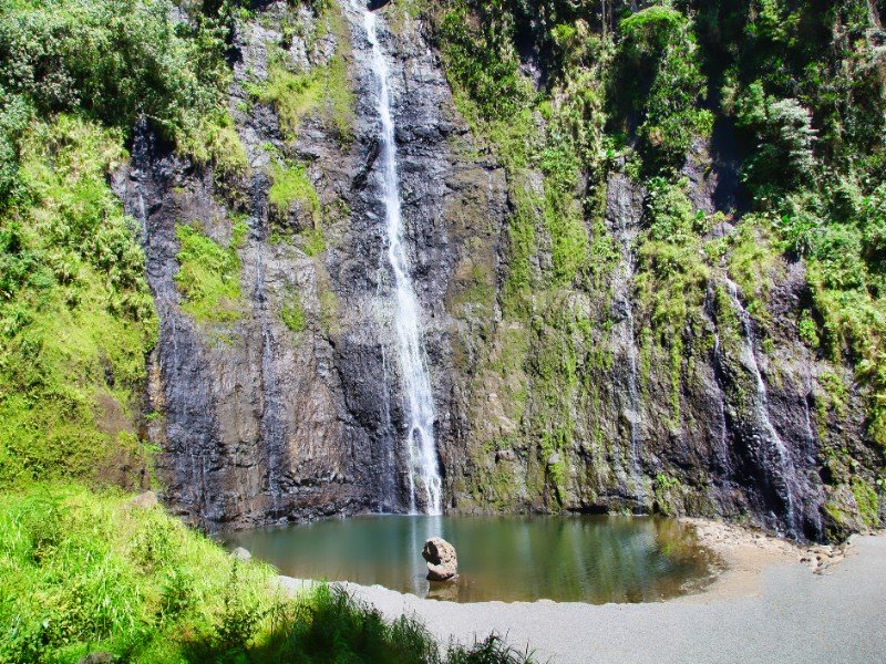 Cachoeira, ilha do Taiti