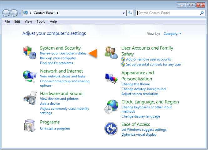 Disabling the System Security programs