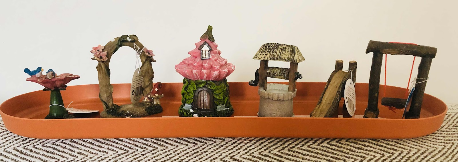 fairy garden ornaments poundland