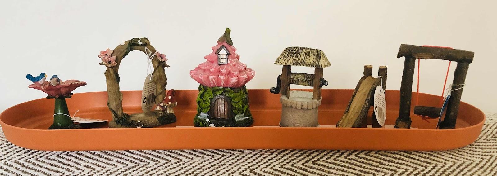 fairy garden ornaments poundland