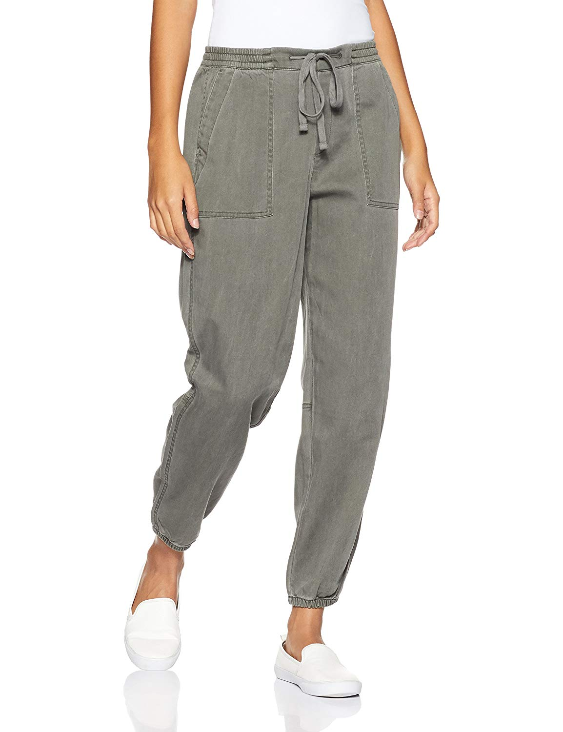 GAP Women's Cotton Track Pants